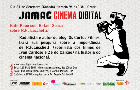 JAMAC Cinema Digital - Bate papo com Rafael Spaca