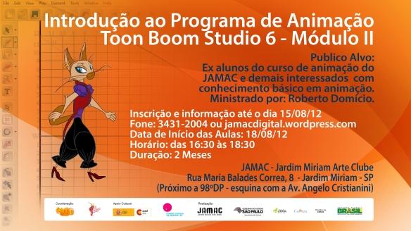 JAMAC Cinema Digital - Oficina de Animação
